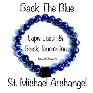 Black Tourmaline ReikiMiAlma Silver Necklace